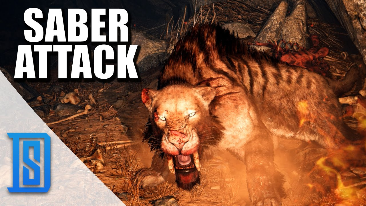 Lets Play Far Cry: Primal - Part 1 - SABERTOOTH ATTACK ...