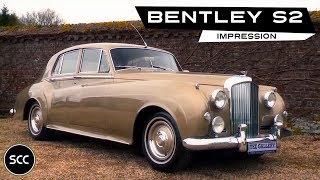 Bentley S2 LHD 1962 - Modest test drive - Engine sound | SCC TV