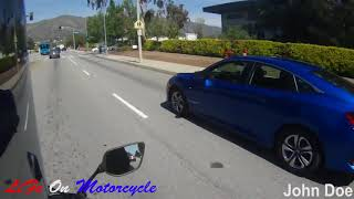 Extremely Close Calls, Road Rage, Crashes & Scary Motorcycle Accidents [EP #52]