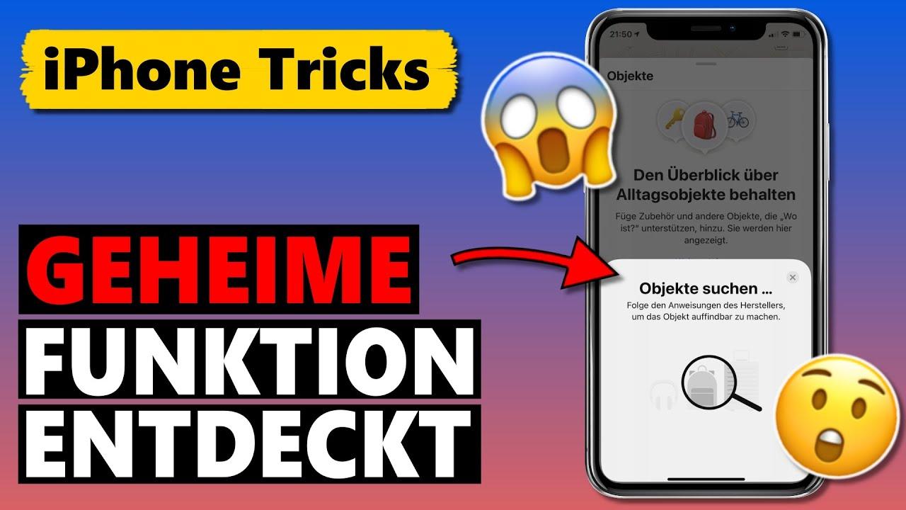 Geheime iPhone Funktion entdeckt – so erhältst du Zugriff! 😱