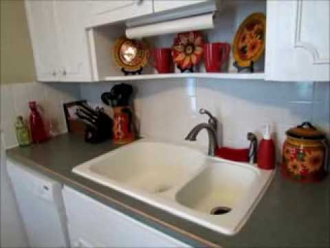 An Organized And Clutter Free Kitchen Part 1: Countertops   YouTube