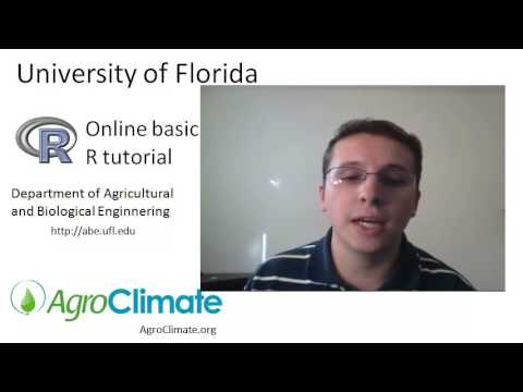 Lecture 1 - Overview of the online basic R tutorial