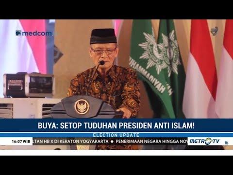 Buya Syafii: Hentikan Tuduhan Presiden Anti-Islam