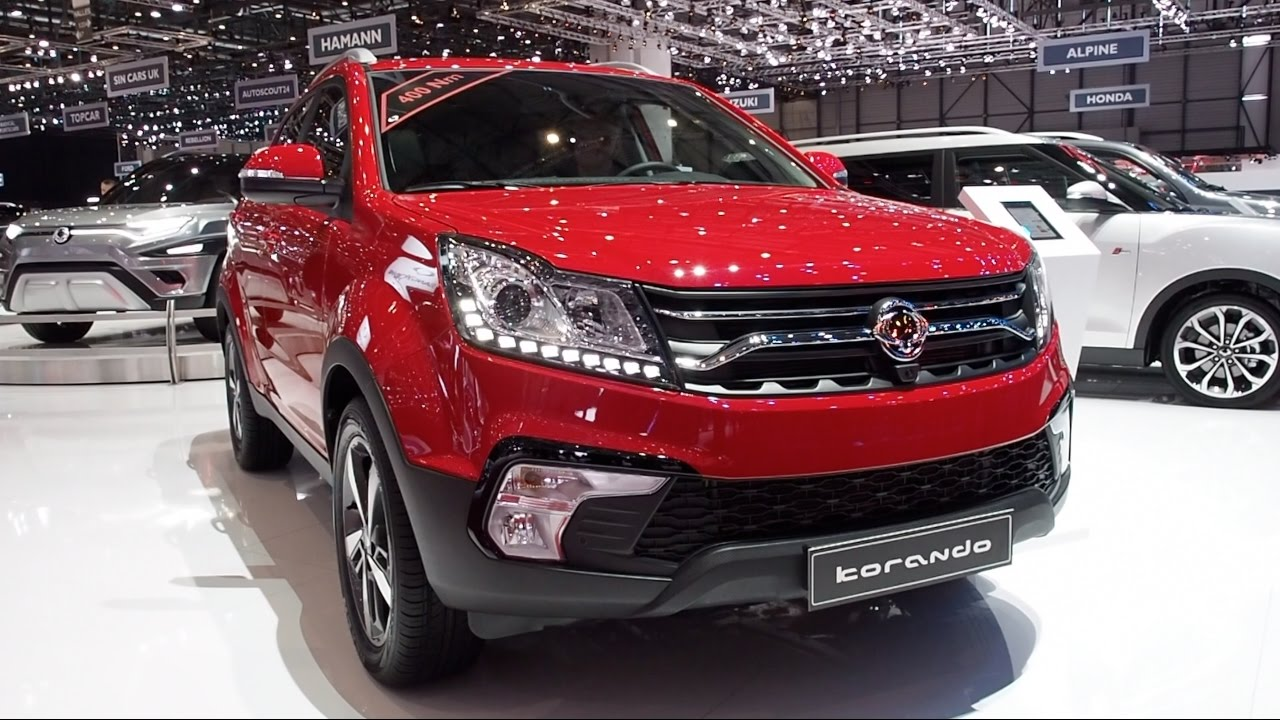 the all new 2017 ssangyong korando in detail review walkaround interior exterior youtube. Black Bedroom Furniture Sets. Home Design Ideas