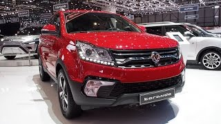 The All New 2017 Ssangyong Korando In detail review walkaround Interior Exterior