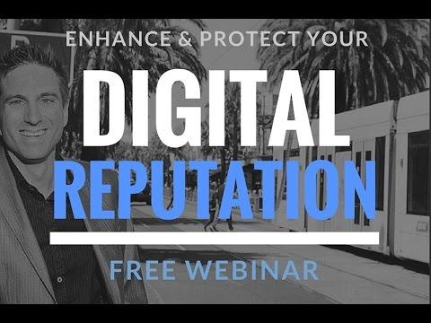 Nathanial Bibby on How to Protect and Enhance Your Digital Reputation (Live Webinar)