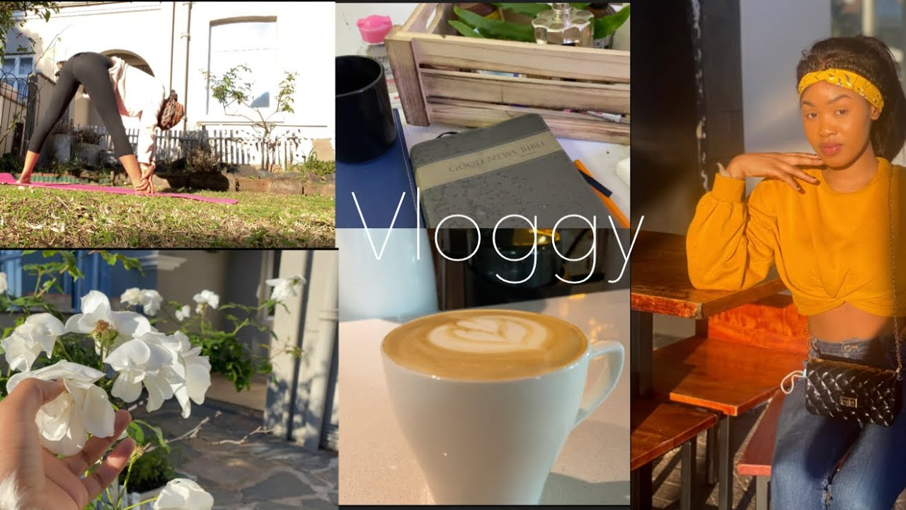 VLOG:we outside ,meditation,bible study , coffee and more