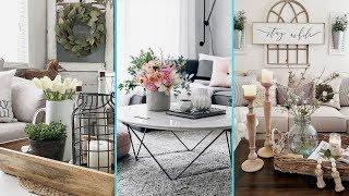 ❤ DIY Rustic Shabby chic style  Summer Centerpiece decor Ideas❤ | Home decor Ideas | Flamingo Mango|
