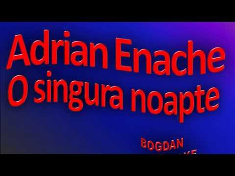 Karaoke Adrian Enache - O Singura Noapte
