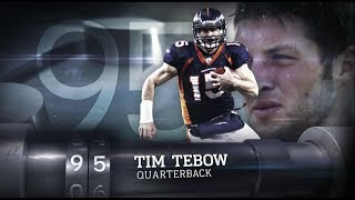 #95 Tim Tebow Top 100 Players of 2012