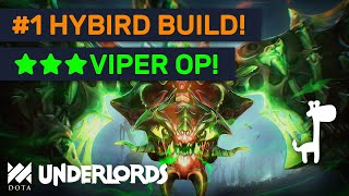 ★★★ VIPER IS OP! Top Meta Hybrid Assassins Mage Build! | Dota Underlords
