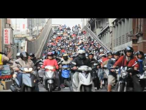 画像: Rush-hour Crazy traffic jam Traffic in Taipei..台北の狂ってる通勤ラッシュ youtu.be