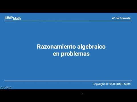 4.2. Unidad 3. Razonamiento algebraico en problemas