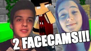 ASSASSINANDO GERAL COM DUAS FACECAMS! (ft. Gah) - Minecraft Murder -