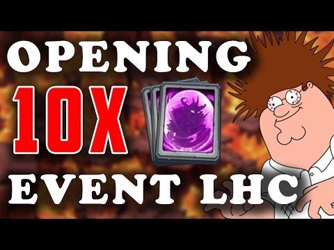 Opening 10 Event Legendary Hero Card! Castle Clash Rare Legendary Hero Card Opening! Event Lhc