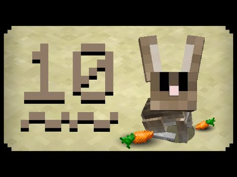 ✔ Minecraft: 10 Things You Didn't Know About The Rabbit
