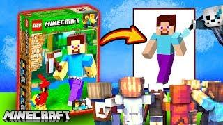 Gracze Hypixela rysują klocki LEGO 🧱 LEGO Minecraft
