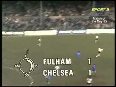 Fulham v Chelsea 1983