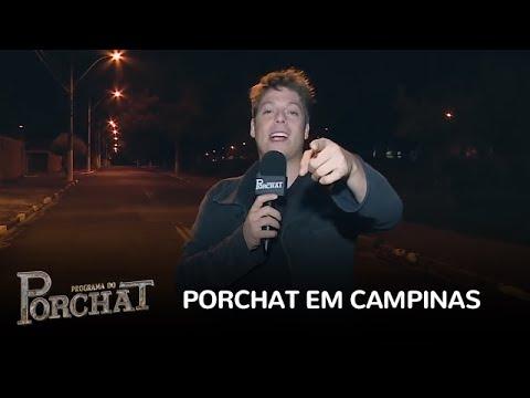 Porchat invade casa dos telespectadores em Campinas