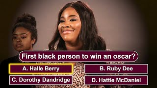 Can You Guess Who Knows The Most Black Trivia?