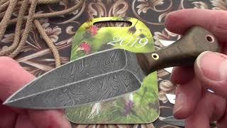 Шейные ножи от Мастерской Федотова. Новогодние.