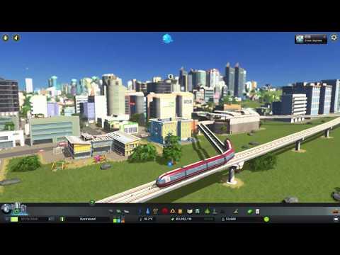 Cities Skylines Mass Transit | MONORAIL
