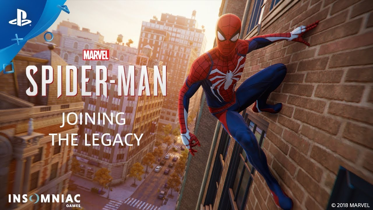 The Legacy of Spider-Man - Inside Marvel's Spider-Man | PS4