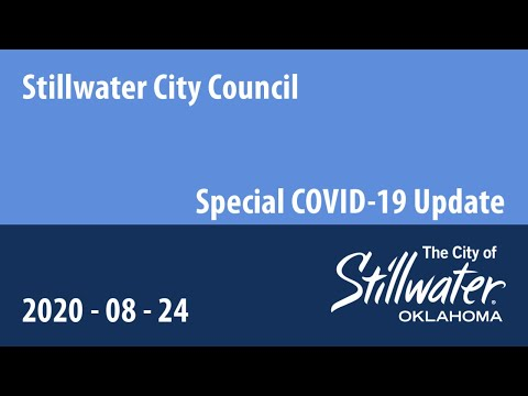 City Council Meeting 8/24/2020