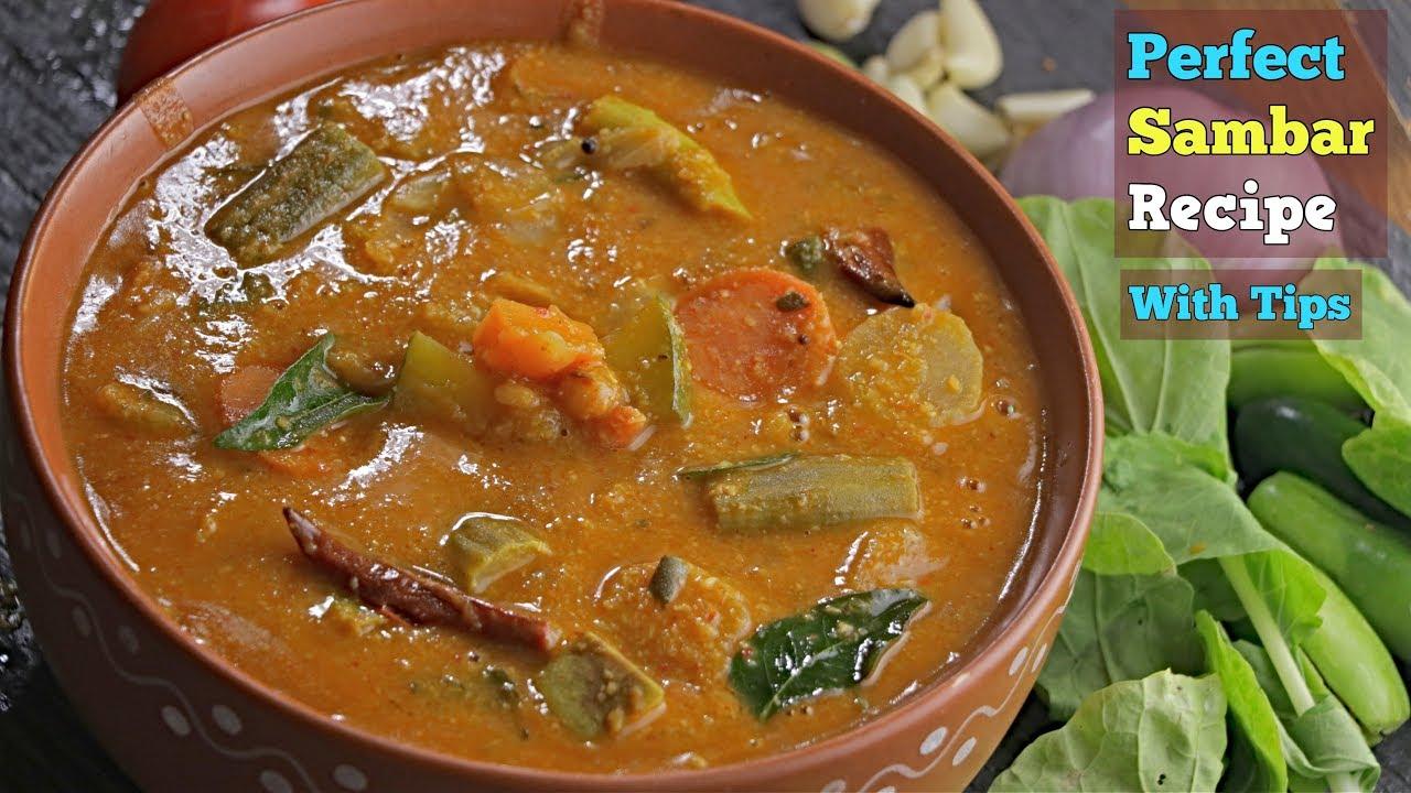 Download Sambar Recipe In Telugu|హోటల్ స్టైల్ సాంబార్|Perfect Sambar In telugu|How To make Sambar Vismai food
