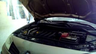 треск при первом запуске двигателя рено меган, после замены фазорегулятора треск исчез