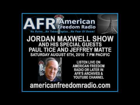 Jordan Maxwell Returns To Radio: Talks Religion, UFO's & More With Guests Paul Tice & Jeffrey Matte