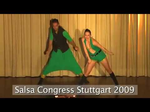Nuno y Vanda Salsa Show - Salsa Dance Show - 2009