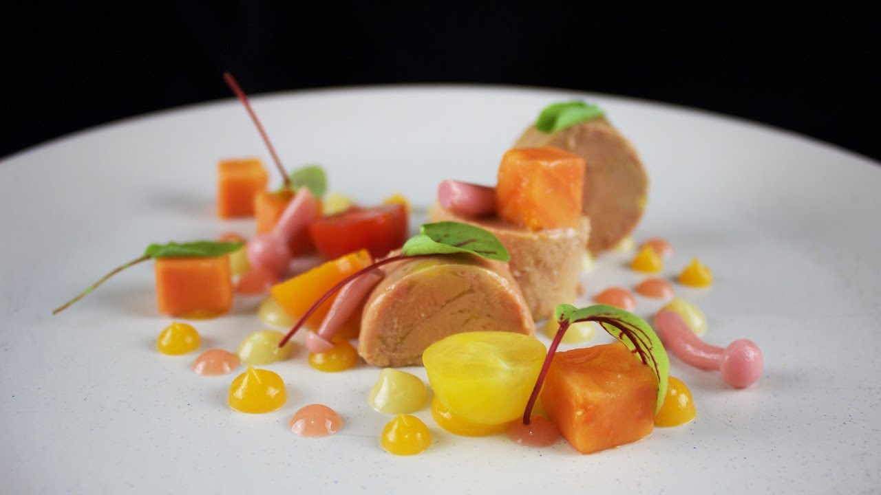 Plating Food 16 Foiegras And Duck Terrine Youtube
