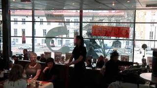 carmen à grenoble flashmob au restaurant le 5, habanera