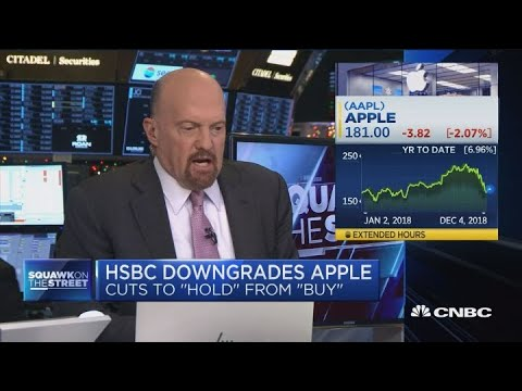 Apples decline in revenues is similar to every suppliers cut, says Cramer