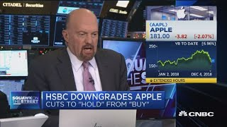 Apple's decline in revenues is similar to every supplier's cut, says Cramer