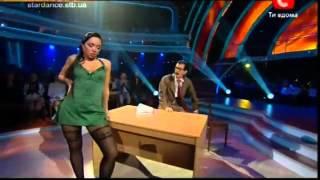 Танцы со звездами.Борис Барский и Инна. 2 эфир.flv