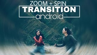 Tutorial Spin Transition Android | Easy Whoosh Transition
