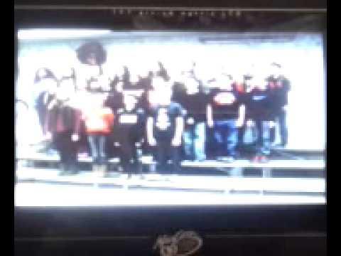 Metamora Grade School 6th Gr Prep Chorus sings Ring We Now of Christmas
