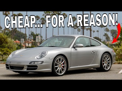 We Buy The CHEAPEST Porsche 997 911 In The USA - But.. It Needs A Clutch, Wheels, Exhaust and More!!