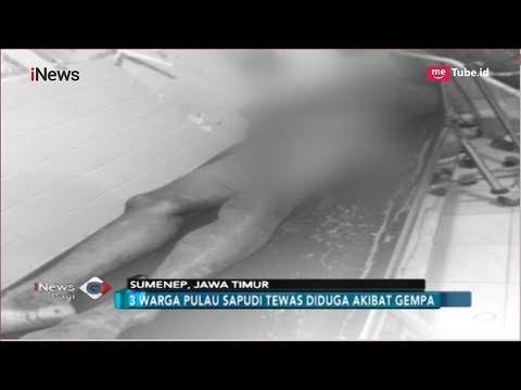 3 Warga Pulau Sapudi Tewas Akibat Gempa 6,4 SR Situbondo - INews Pagi 11/10