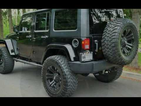 2013 Jeep Wrangler Unlimited Lifted 4x4 42k Hard Top 20s