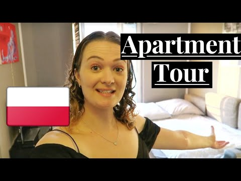 WARSAW AND KRAKOW, POLAND APARTMENT TOUR   AIRBNB   (digital nomad)