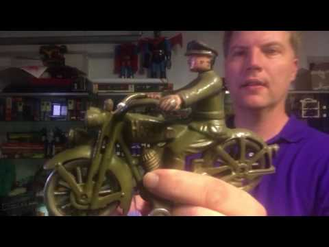 Hubley Harley Davidson cast-iron from Antique Toys