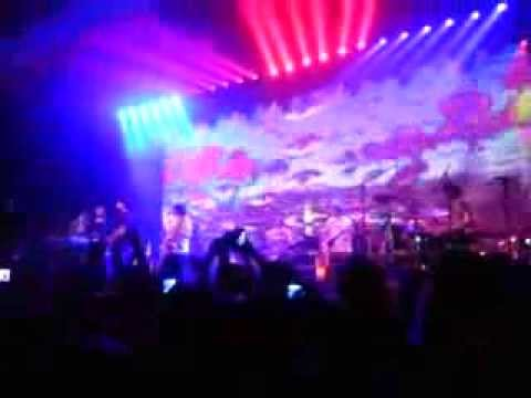 MGMT live - Your Life Is A Lie - Indianapolis,IN w/Andrew Luck and Anthony Castonzo