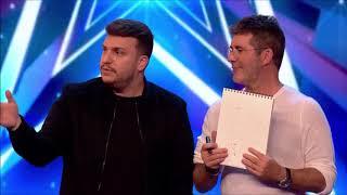 Magicians Invite Simon on Stage!! #GotTalent - Magicians Got Talent