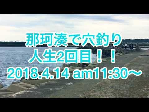 【4月】那珂湊で穴釣り!!2回目
