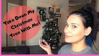 Take down My Christmas Tree Decorations with me!!! Happy New Years!!