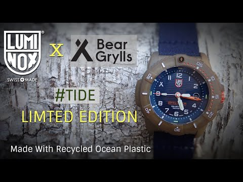 Luminox Bear Grylls Limited Edition #tide - Made With 100% Recycled Materials 200m - Eco Series 3703