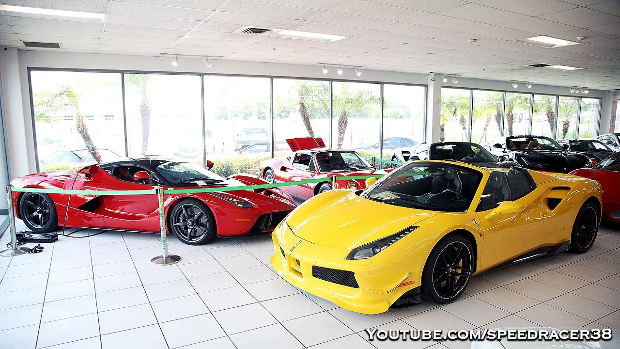 Checking Out Ferrari Of Central Florida Youtube